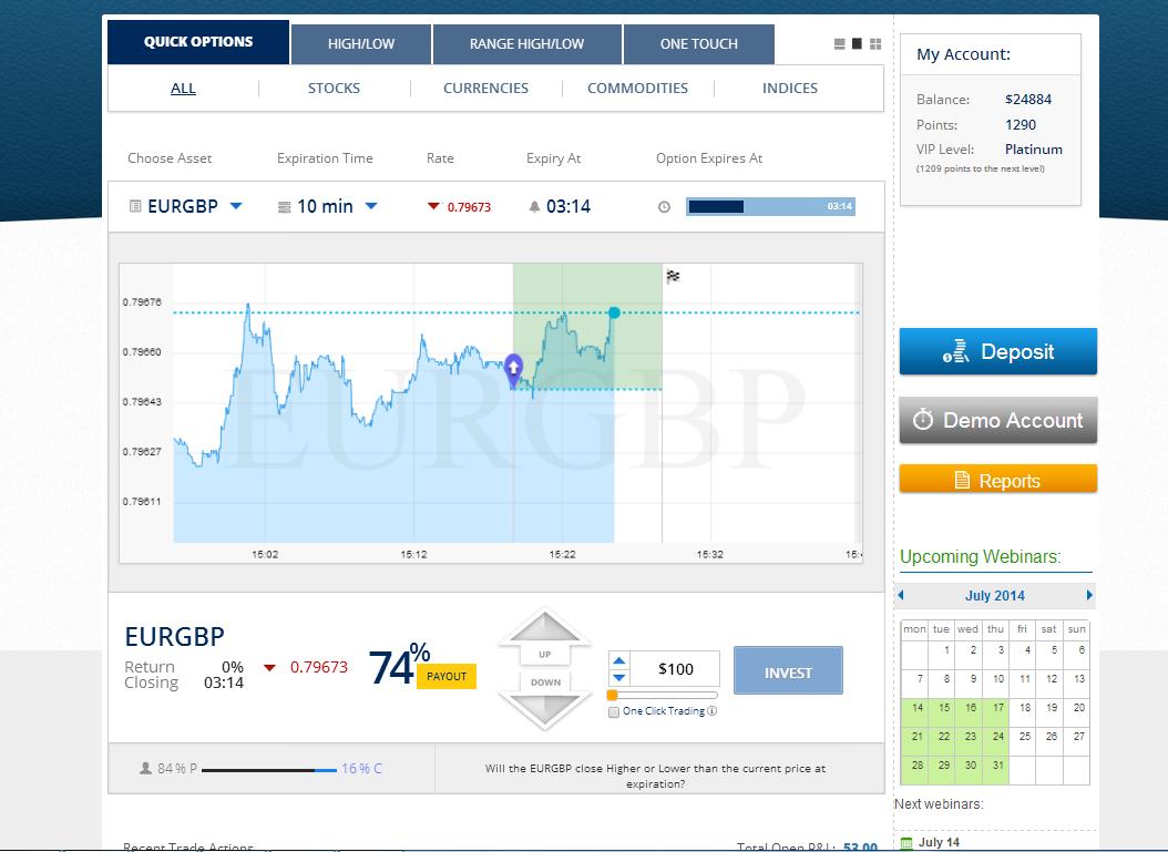 1. EURGBP up