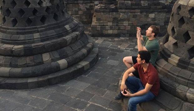 Mark di Borobudur - tempo.co