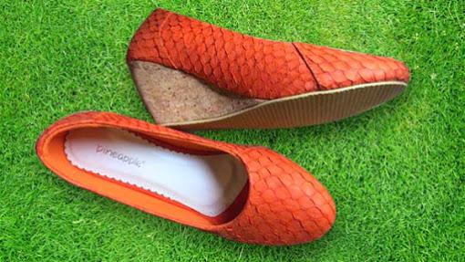 Mengenal Bisnis Sepatu Kulit Ikan Pineapple Shoes b2258a7e4c